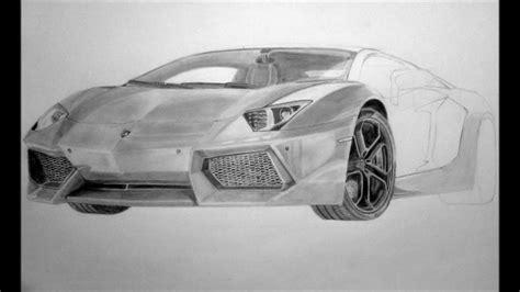 lamborghini aventador sketch lamborghini aventador lp700 4 pencil drawing youtube