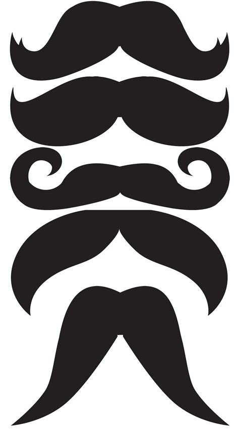Mustache Template Oh Boy Mustaches Bow Ties Crafting Moo Moo