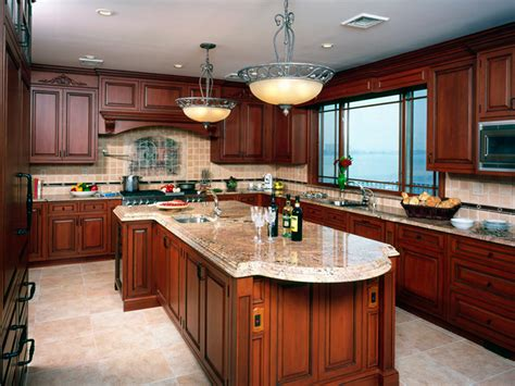pictures of kitchens with cherry cabinets Cherry Kitchen