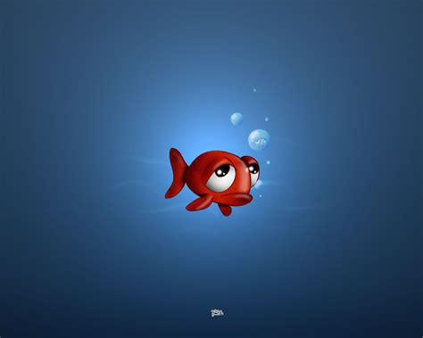 Sad Animation Wallpaper - sad animated fish animated fish hes soo sad 1266
