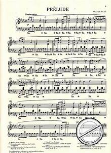 Chopin Regentropfen Prelude Noten Pdf