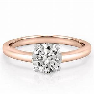 Classic solitaire ring solitaire engagement ring asha for Wedding rings to go with solitaire engagement ring
