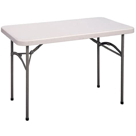 table ls for less correll cp2448 23 heavy duty plastic folding table gray