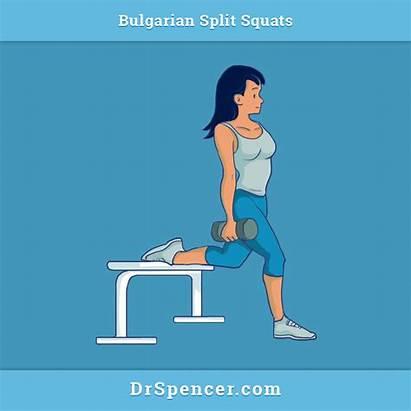 Squats Split Bulgarian Doing Legs Hit Pressure