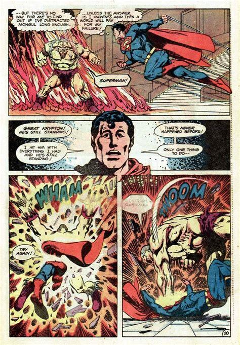 dc    mongul  pre crisis superman