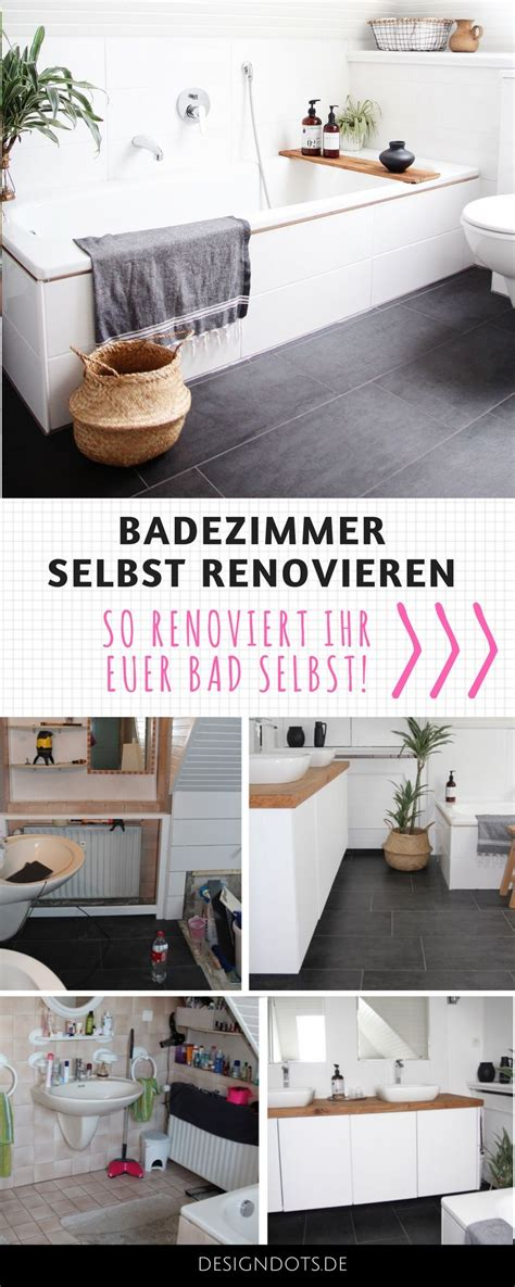 Badezimmermöbel Streichen by Badezimmer Selbst Renovieren Bad Ideen Deko Renovieren