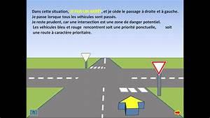 Intersection Code De La Route : cours de code le cedez le passage youtube ~ Medecine-chirurgie-esthetiques.com Avis de Voitures