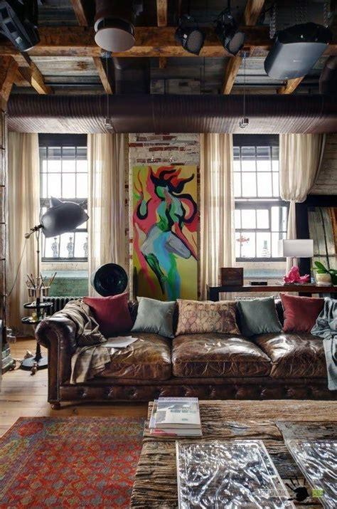 Wohnen In Industriegebäuden by Das Einzigartige Design Einer Moskauer Wohnung Im Loft