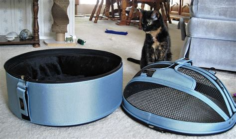 review sleepypod mobile pet bed the conscious cat