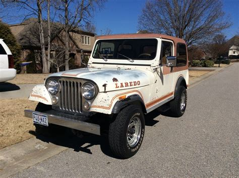 jeep laredo 1983 jeep cj 7 laredo unrestored original cj super solid