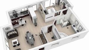 Plan 3d Salle De Bain : cuisine am nag e cr ation de salle de bain quimper pont ~ Melissatoandfro.com Idées de Décoration