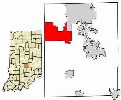 Bargersville Indiana Johnson County Unincorporated Svg Incorporated