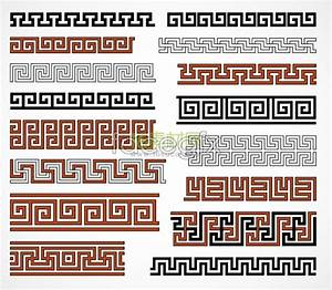 Chinese traditional pattern borders, vector – Over ...