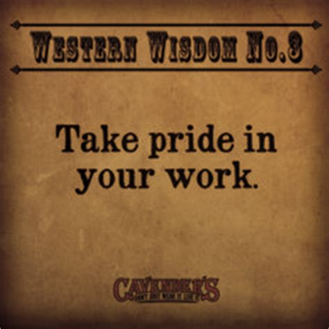 Quotes About Taking Pride In Your Work