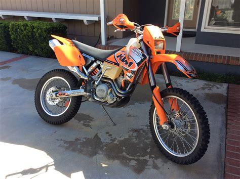 2002 ktm 520 exc smokypipe s bike check vital mx