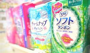 Guide To Sanitary Napkins And Tampons In Japan
