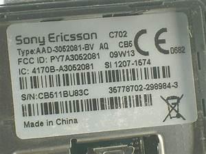 Sonyericsson C702