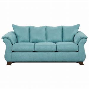 Affordable furniture 6700 three seat queen size sleeper for Sectional sofa with recliner and queen sleeper