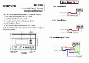 Honeywell Rth2300b Wiring Diagram