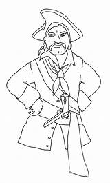 Pirate Coloring Pages Angry Clipartqueen sketch template
