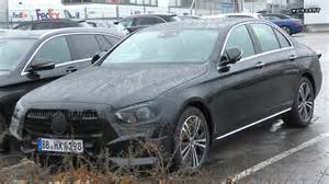 2020 Mercedes E Class by 2020 Mercedes E Class Facelift Spied With New Design
