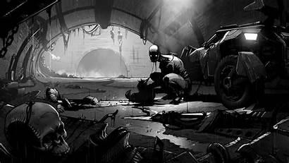 Evil Metro Creepy Horror 2033 Sci Fi