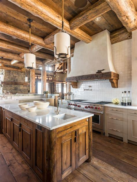 rustic kitchen island houzz