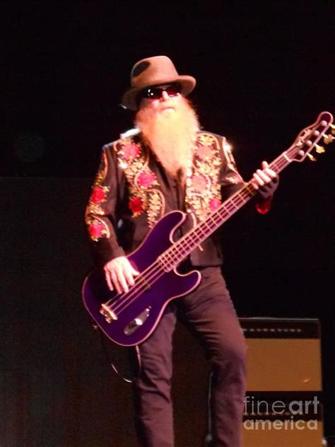 Joseph michael dusty hill is an american musician, singer, and songwriter, who is best known as the bassist and secondary lead vocalist of. Dusty Hill Of Zz Top On Bass Guitar Photograph by John Telfer