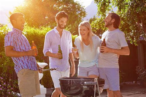 idees originales pour  barbecue entre amis barbecue