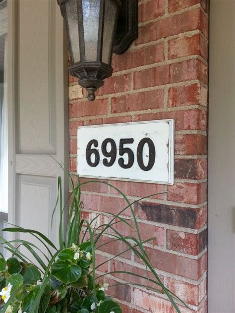 rustic house number sign rustic house numbers house