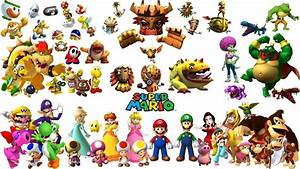 Mario Characters Gallery