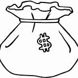 Money Coloring Pages sketch template
