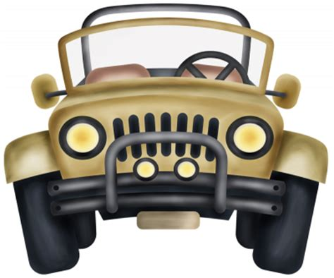 safari jeep png симпатичные авто клипарт на прозрачном фоне транспорт