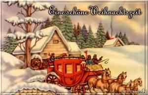 Schöne Weihnachten Grüße : nostalgie weihnachtskarten gru karten ecards ~ Haus.voiturepedia.club Haus und Dekorationen