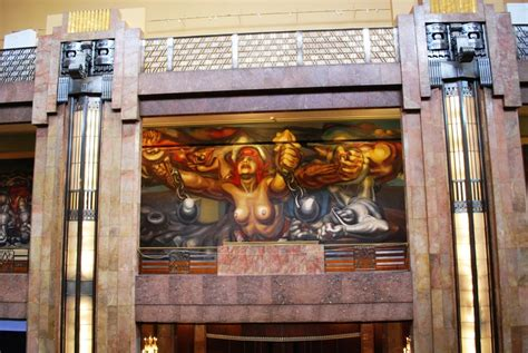David Alfaro Siqueiros Murales Bellas Artes by Happy Birthday To Great Mexican Muralist David Alfaro