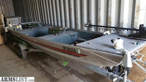 Tracker Boat Carpet by Armslist For Sale Trade 14 Bass Tracker Jon Boat