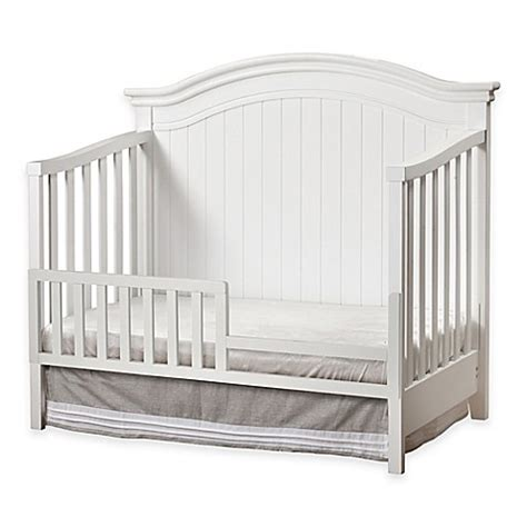 sorelle providence crib sorelle providence finley toddler guard rail in white