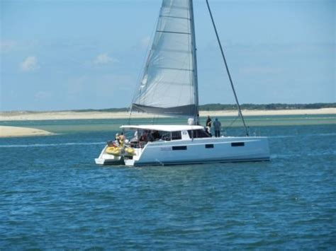 Catamaran Dex by Location Nautitech Open 40 224 Arcachon Click Boat