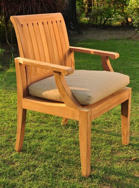 arm chair  grade teak garden outdoor furniture patio