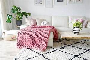 Chunky Knit Decke : diy chunky knit decke video tutorial mamigurumi ~ Whattoseeinmadrid.com Haus und Dekorationen