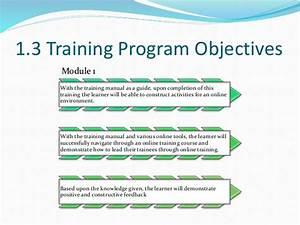 Cur 532 Facilitator Training Program Manual