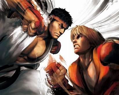 Fighter Street Ryu Ken Vs Wallpapers Ii