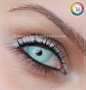 White Eye Contacts | White Ice Crazy Eyes 30 day wear ...