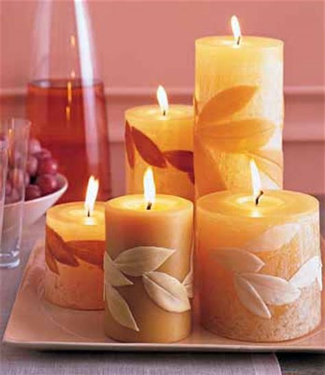candle centerpiece ideas table decoration  fall