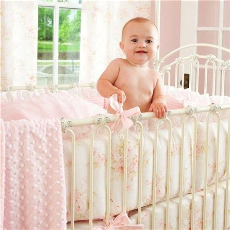 shabby chic fuzzy blanket 1000 ideas about baby girl cribs on pinterest princess nursery girl nurseries and nurseries