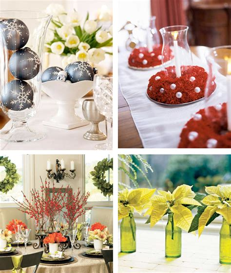 easy to make decorations 50 great easy christmas centerpiece ideas digsdigs