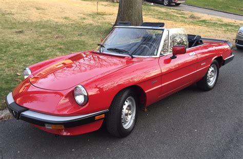 1988 Alfa Romeo by 1988 Alfa Romeo Spider Stock 122728spider For Sale Near