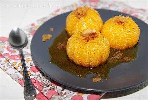 dessert a la clementine cl 233 mentines confites au miel par culinaireamoula