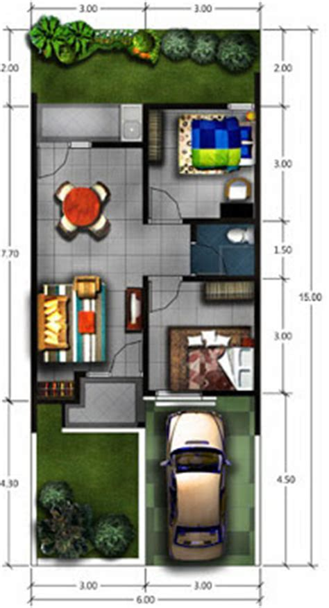 gambar desain rumah type  desain denah rumah terbaru