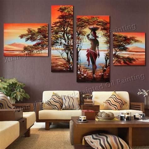 cuadros grandes  el living cuadros decoracion de